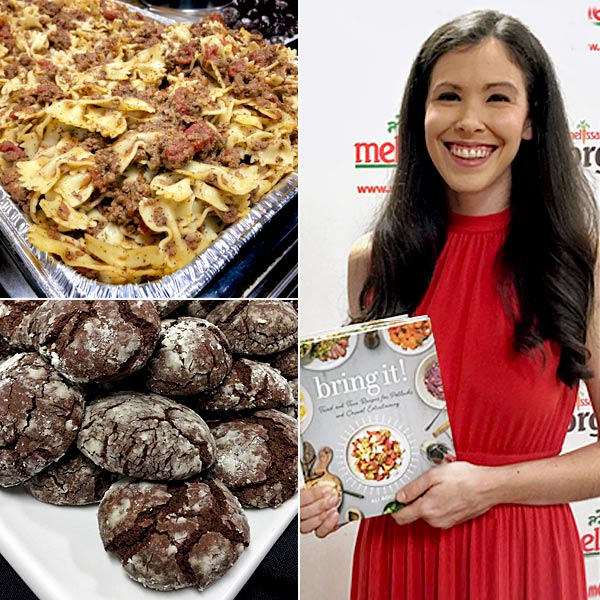 Ali Rosen with Bring It! Cookbook