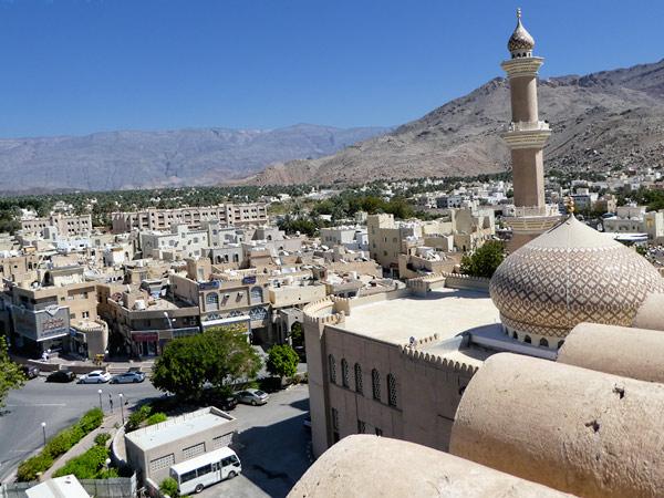overlooking Nizwa, Oman