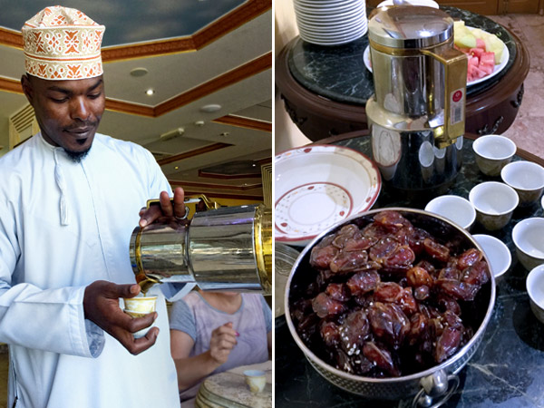 omani coffee and dates