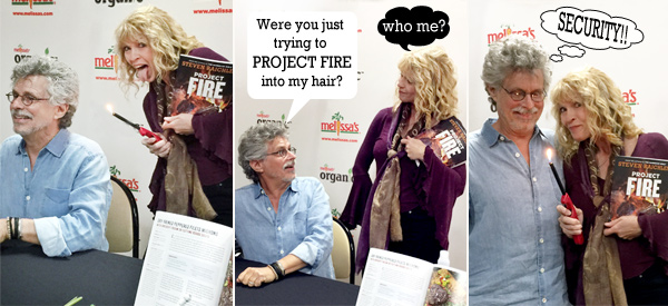 Cookbook author steve raichlen with book project-fire