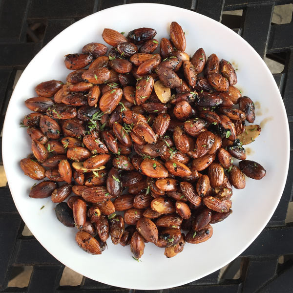 Grilled Almonds from French Grill by Susan Herrmann Loomis