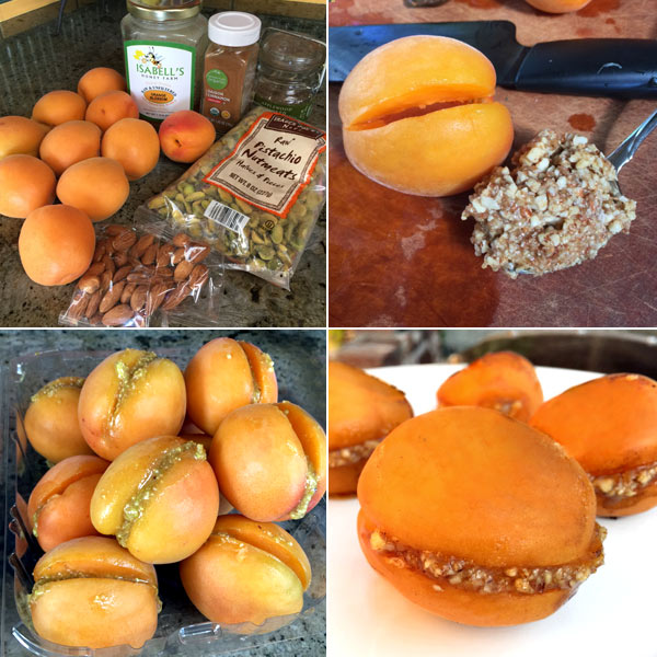 grilled apricots from French Grill by Susan Herrmann Loomis