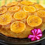 Orange and Spice Upside Down Cake