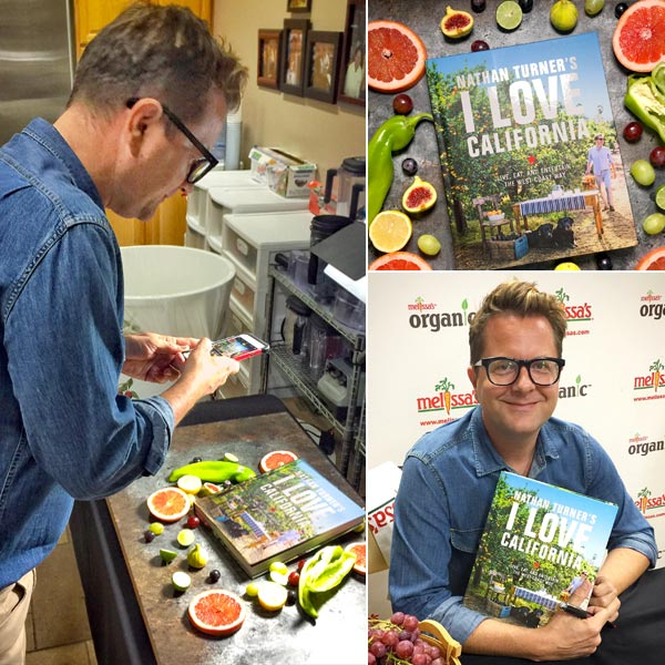 Nathan Turner from Nathan Turner's I Love California Cookbook