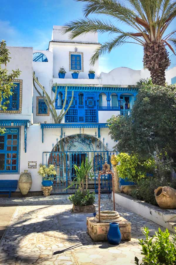 Dar el Annabi in Sidi Bou Said by She Paused 4 Thought
