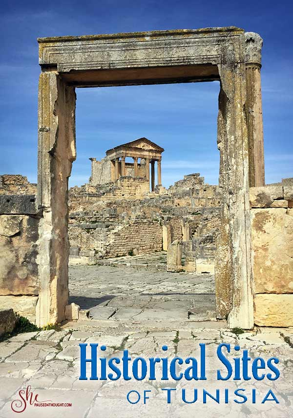 Dougga Tunisia | She Paused 4 Thought