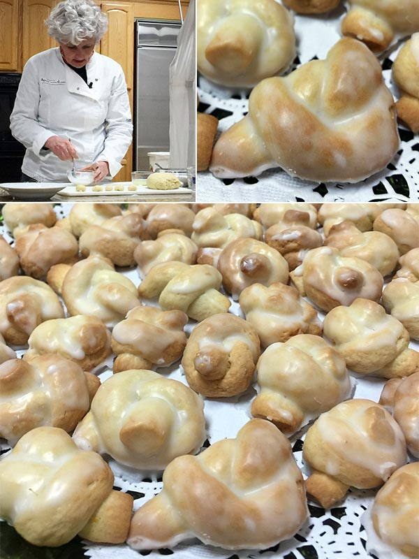 Fabrizia Lanza making Taralli from Coming Home to Sicily