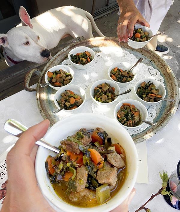 Aussie Lamb Spring Stew