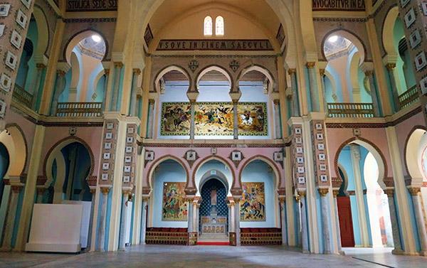 Inside Acropolium - Tunisia