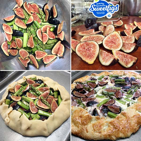 Fig, Asparagus, and Goat Cheese Galette | Hero Dinners Cookbook
