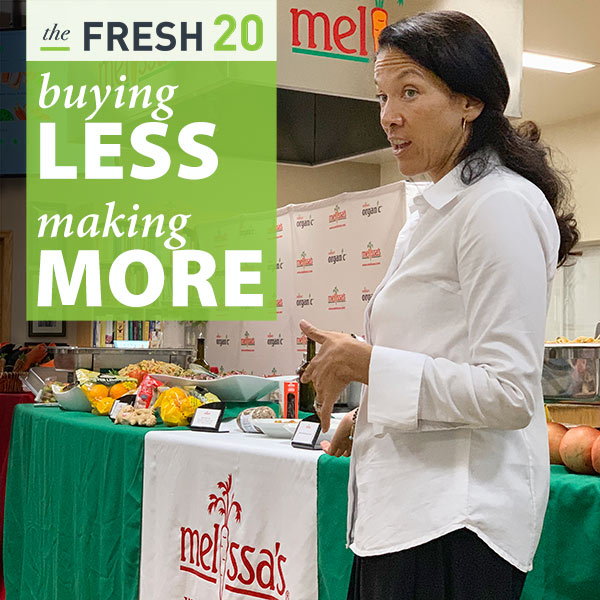 Melissa Lanz of the Fresh 20