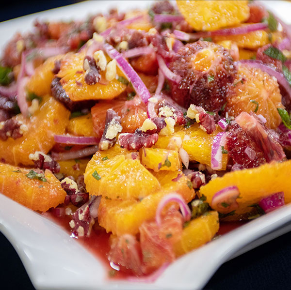 Spiced Orange Salad from The Karachi Kitchen by Kausar Ahmed