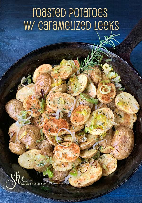 Roasted Potatoes with Caramelized Leeks