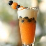 Melon-parfait-with-ginger-yogurt