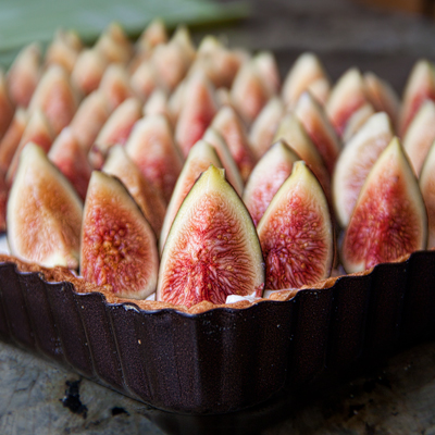 Fig & Ginger Brûlée Tart | She Paused 4 Thought