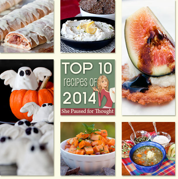 Top 10 recipes of 2014 | She Paused 4 Thought