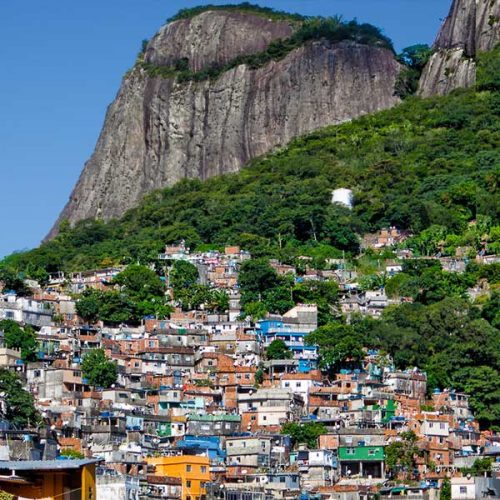 Favelas in Rio de Janeiro