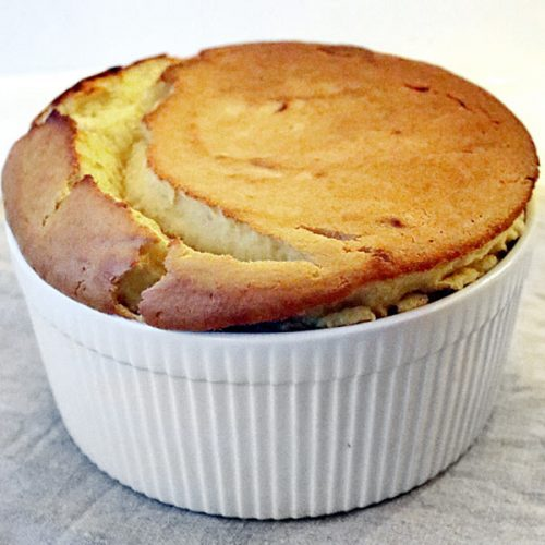 Pear and Parsnip Souffle