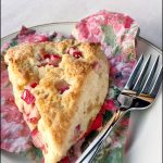 Rhubarb Ginger Scones   She Paused 4 Thought