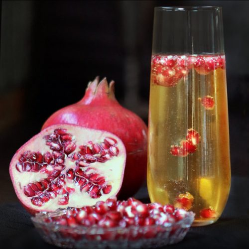 Elegant Pomegranate | She Paused 4 Thought