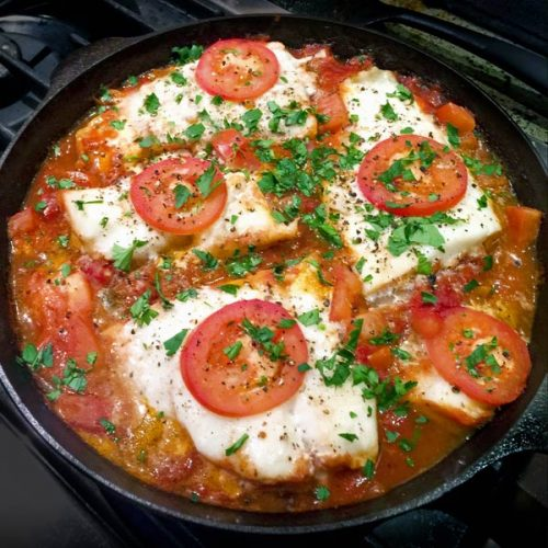 Fish Baked in Tomato Sauce