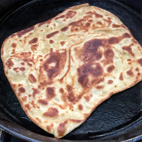 Maldouf date flat bread