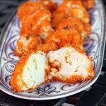 Buffalo Baked Cauliflower | Siriously Delicious Cookbook