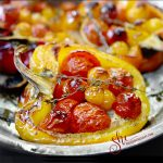 Tomato Stuffed Peppers | She Paused 4 Thought